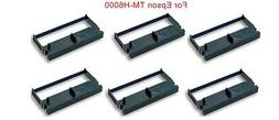 6black ink ribbon cartridge for Epson ERC32TM-H6000 M935Ther
