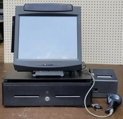 Complete POS System for Retail Setting Touch Screen With Rec