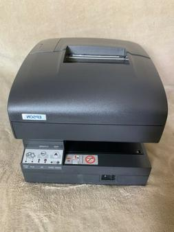 Epson TM-J7100 M184A Receipt Printer  With Charger NO INK.